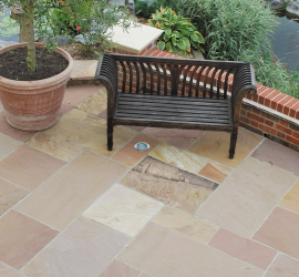 Pack H Indian Sandstone Modak - Riven Face and Edge
