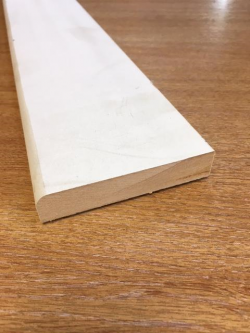 Rounded MDF Skirting