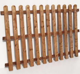 Sawn Paling Panels 4' High