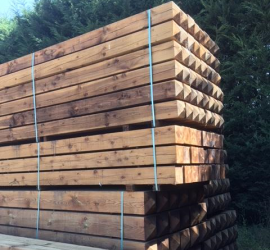 Softwood Gate Posts