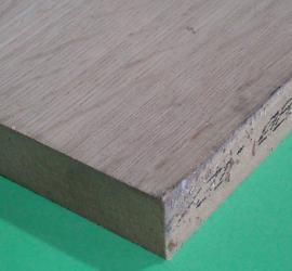 8' x 4' Oak veneered MDF