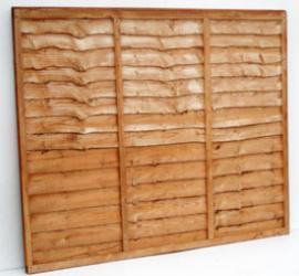 Wavey Lap Panels